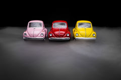 Toy Volkswagen Beetle Royalty Free Stock Images