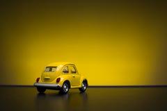 Toy Volkswagen Beetle Royalty Free Stock Photo