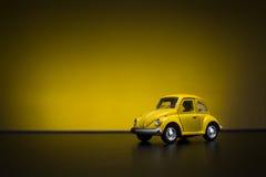 Toy Volkswagen Beetle Stock Photos