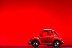 Toy Volkswagen Beetle Royalty Free Stock Photography