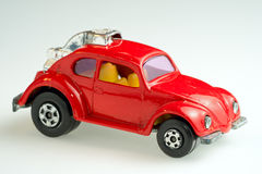 Toy Volkswagen Super Beetle car Royalty Free Stock Photos