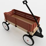 Toy Wagon Royalty Free Stock Images