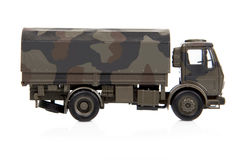 Toy War Truck Royalty Free Stock Photo