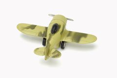 Toy warplane Royalty Free Stock Photography