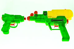 Toy water pistols Stock Image