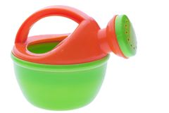 Toy watercan Stock Photography