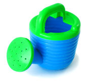 Toy watering-can Royalty Free Stock Photos
