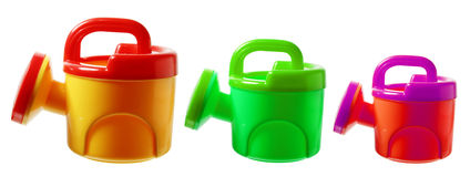 Toy Watering Cans stock foto