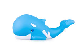 Toy whale Stock Images