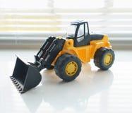 Toy Wheel Loader Close para arriba Imágenes de archivo libres de regalías