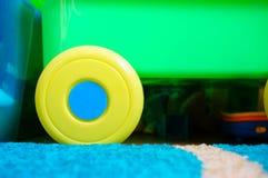 Toy wheel Stock Photo