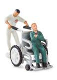 Toy wheelchair Royalty Free Stock Photo