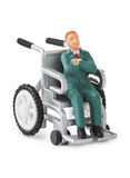 Toy wheelchair Royalty Free Stock Images