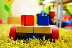 Toy on wheels Stock Image