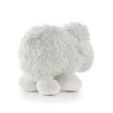 Toy White Lamb suave Imagen de archivo libre de regalías