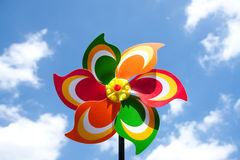 A toy windmill Stock Images