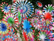 Toy windmill Stock Images