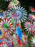 Toy windmill Royalty Free Stock Photos