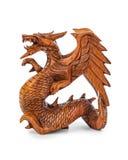 Toy wood dragon Royalty Free Stock Image