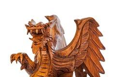 Toy wood dragon Stock Image