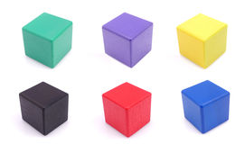 Toy wooden blocks Royalty Free Stock Photo