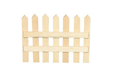 Toy Wooden Fence Royalty Free Stock Images