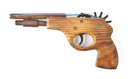 Toy wooden gun Stock Photography