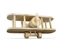 Toy Wooden Plane Fotografía de archivo