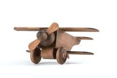 Toy Wooden Plane photographie stock libre de droits