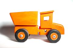 Toy Wooden Truck royalty-vrije stock foto