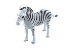 Toy Zebra royaltyfri fotografi