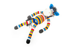 Toy Zebra Royaltyfri Bild