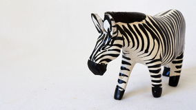 Toy Zebra Royaltyfria Foton
