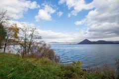 Toya Hokkaido del lago al Giappone Fotografie Stock