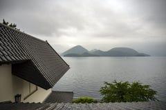 Toya lake Toyako Hokkaido royalty free stock images
