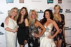 Toya, Paris Hilton, Kathy Hilton, Kim Richards, Kyle Richards, Λα Toya Τζάκσον, LaToya Τζάκσον, Jacksons στοκ φωτογραφία
