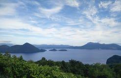 Toyako sjö Arkivfoto