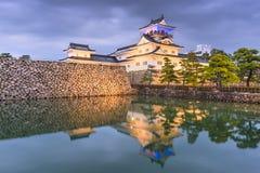 Toyama, Япония на замке Toyama стоковые фотографии rf