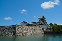 Toyama Castle in Toyama city Stock Image