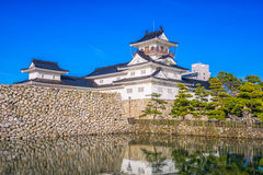 Toyama Japan Castle. Toyama, Japan at the castle Royalty Free Stock Images