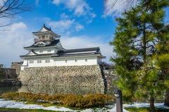 Toyama kasztel w Toyama mieście Zdjęcia Stock