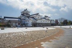 Toyama slott i den Toyama staden Royaltyfria Foton