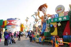 Hong Kong Disneyland fotografering för bildbyråer