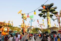 Hong Kong Disneyland arkivbild