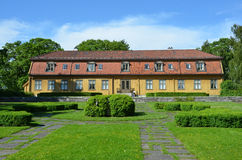 Toyen Manor at The University Botanical Garden in Oslo Stock Photography