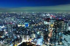 Toyko cityscape Stock Image