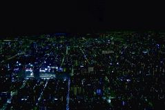 Toyko Cityscape Top View Royalty Free Stock Image