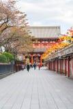 Toyko, Japan - 16 November 2016: Tourists walk on Nakamise Dori Royalty Free Stock Photography