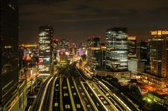 Toyko by Night royalty free stock images
