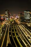 Toyko by Night stock photos